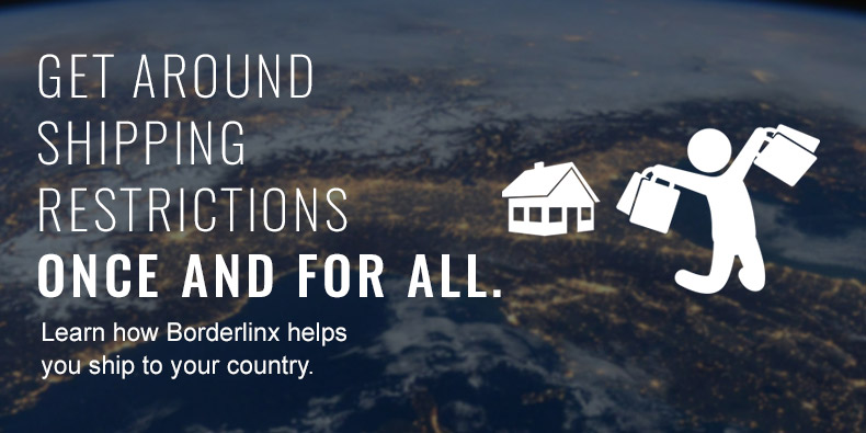 Learn how Borderlinx helps you ship to your country.