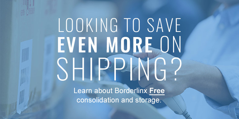 Learn about Borderlinx Free consolidation and storage.