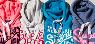 Buy Superdry and ship with Borderlinx